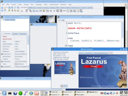 Free Pascal Lazarus